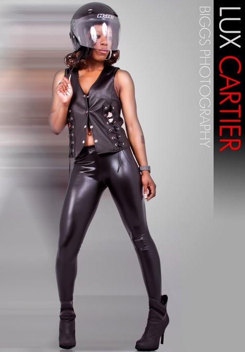 Female model photo shoot of LUX CARTIER in Grindaz Studios