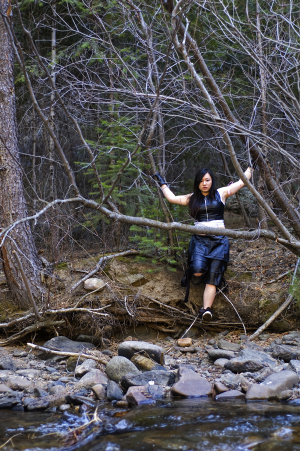 Female model photo shoot of Kaye Isythea by SpiderSpine Photography in Lefthand Canyon