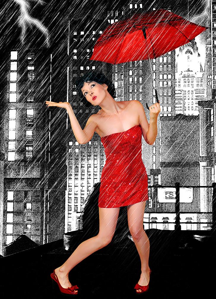 Toronto Jun 22, 2011 A R Tiste Betty Boop