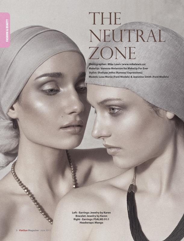 """Mike Lewis Studio - Toronto Jun 22, 2011 ©mikelewis2011 """"The Neutral Zone"""" for Viet Sun Magazine"""