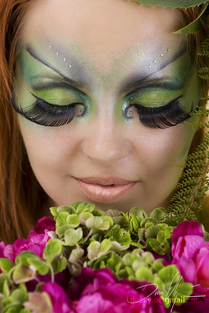 Female model photo shoot of LArt MakeUp and agaa