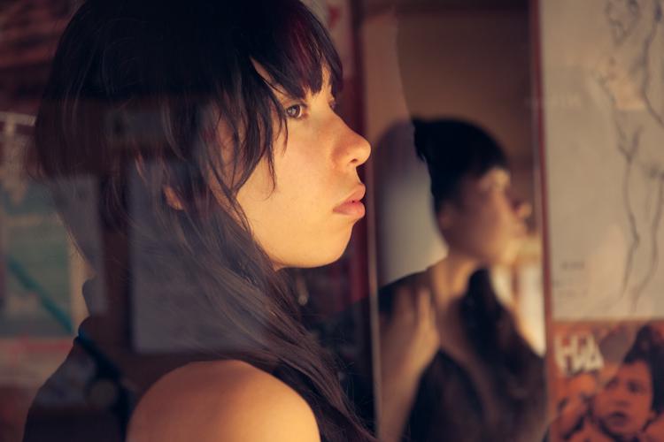 Female model photo shoot of Nico K by Shuji Kobayashi