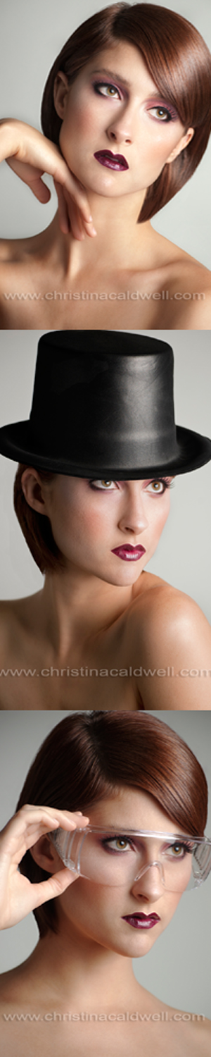 Female model photo shoot of Christina Caldwell and Ashley Dacey in Chandler, AZ, makeup by Christinas Designs