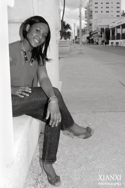 Female model photo shoot of Chickie B in HollyWood, FL