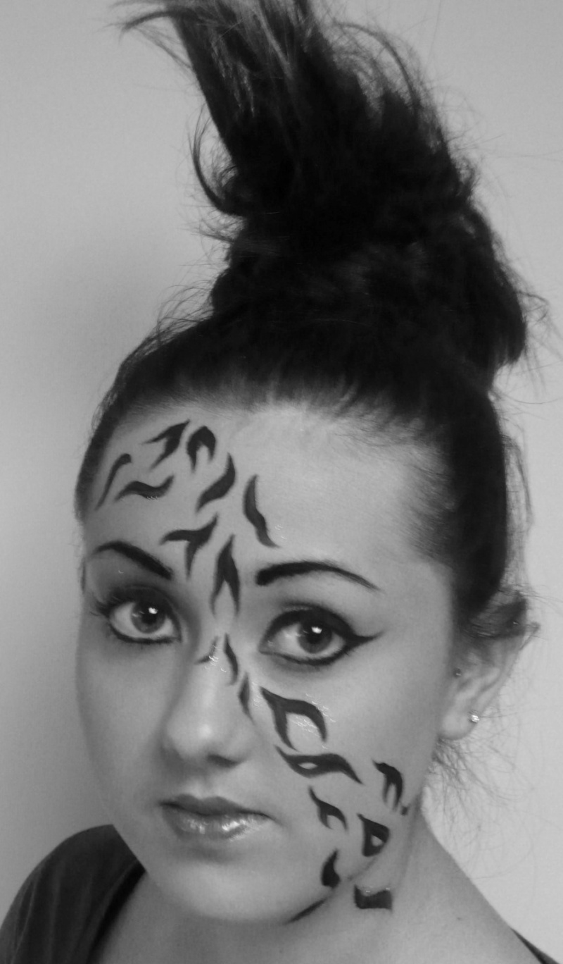 Jun 26, 2011 Zebra inspired makeup