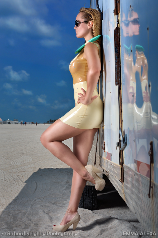 South Beach, Florida Jun 26, 2011 (c) Richard Knightly Photography South Beach Trailer