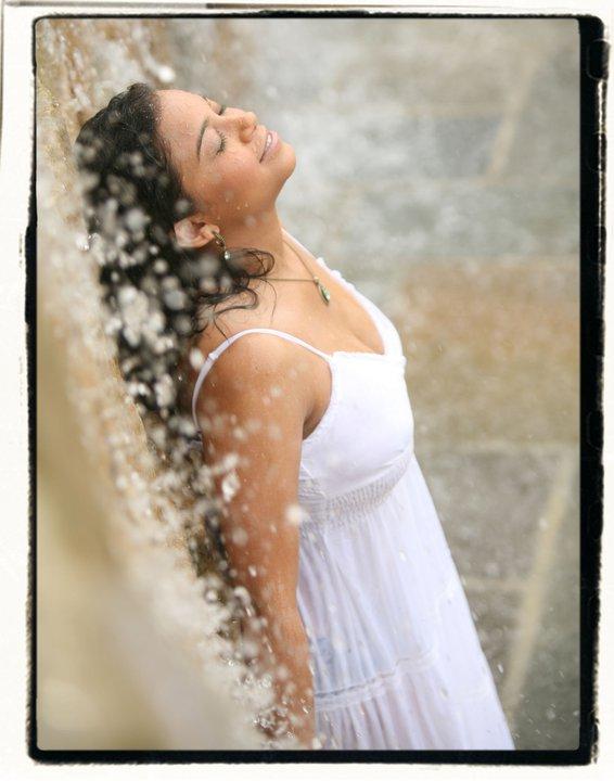 Female model photo shoot of Leona Luisa by Manish Photography