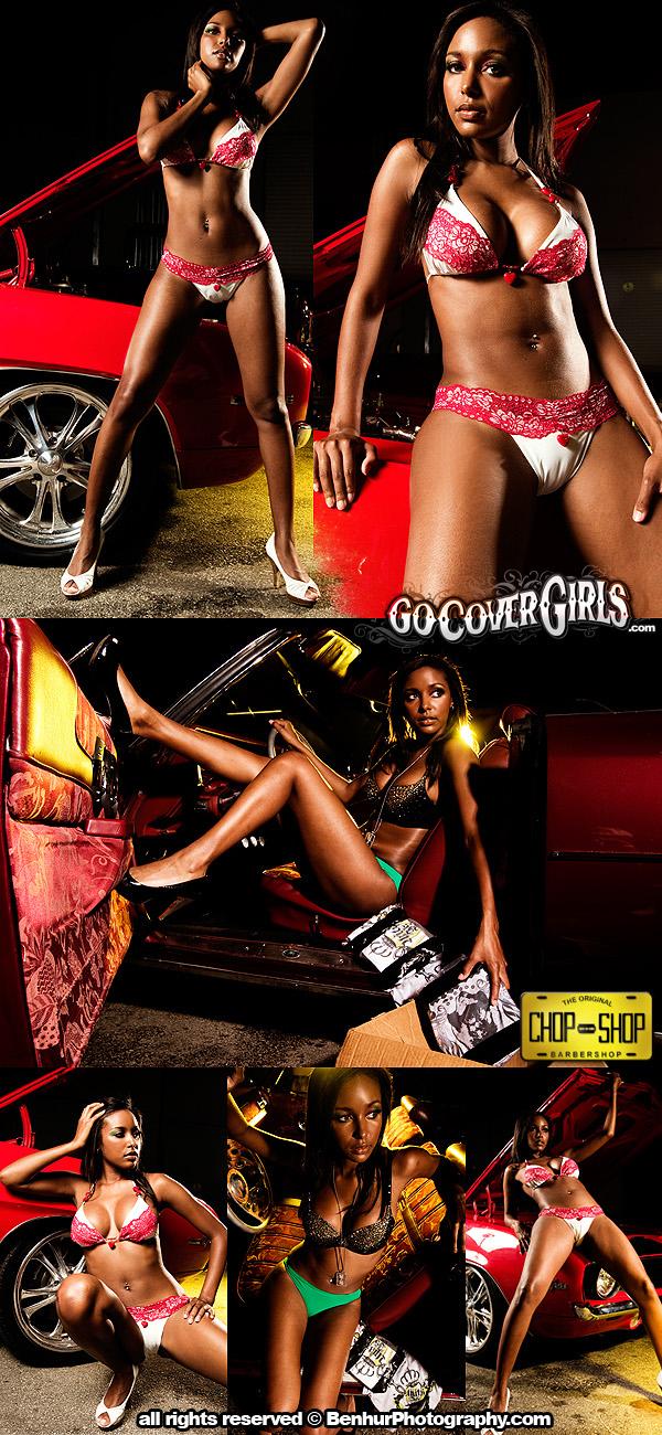 Miami, FL Jun 27, 2011 GoCoverGirls / Benhur Photography Riding Dirty