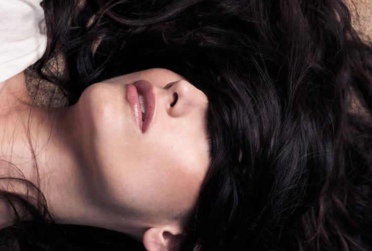 Female model photo shoot of Amber Doan Viray and Felt Sol by zurkzees, makeup by Amber Doan Viray