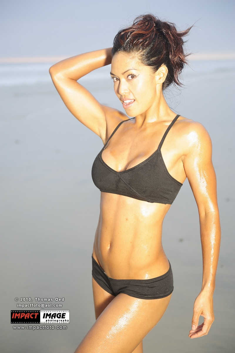 Carlsbad State Beach , Ca Jun 27, 2011 Thomas Oed Photography Fitness model
