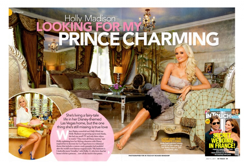 Holly Madisons Las Vegas Home Jun 29, 2011 2011 In Touch Weekly July 4, 2011 Issue