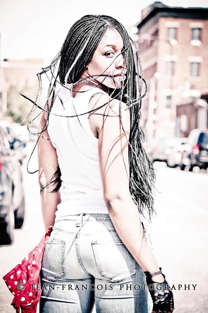 Female model photo shoot of Oge by Jean-Francois Photo in Williamsburg