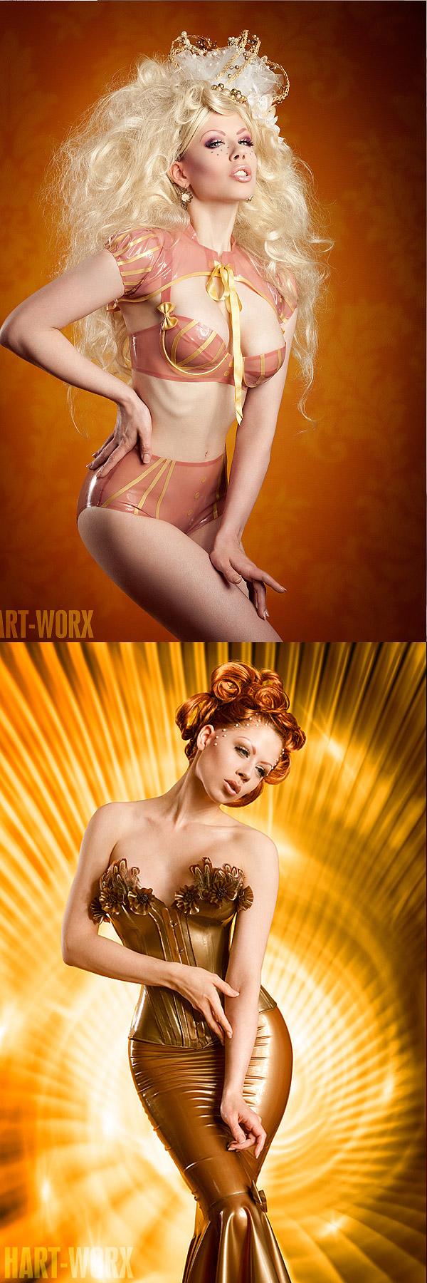 Jun 30, 2011 Hart-Worx model, make-up, styling, wig design: myself