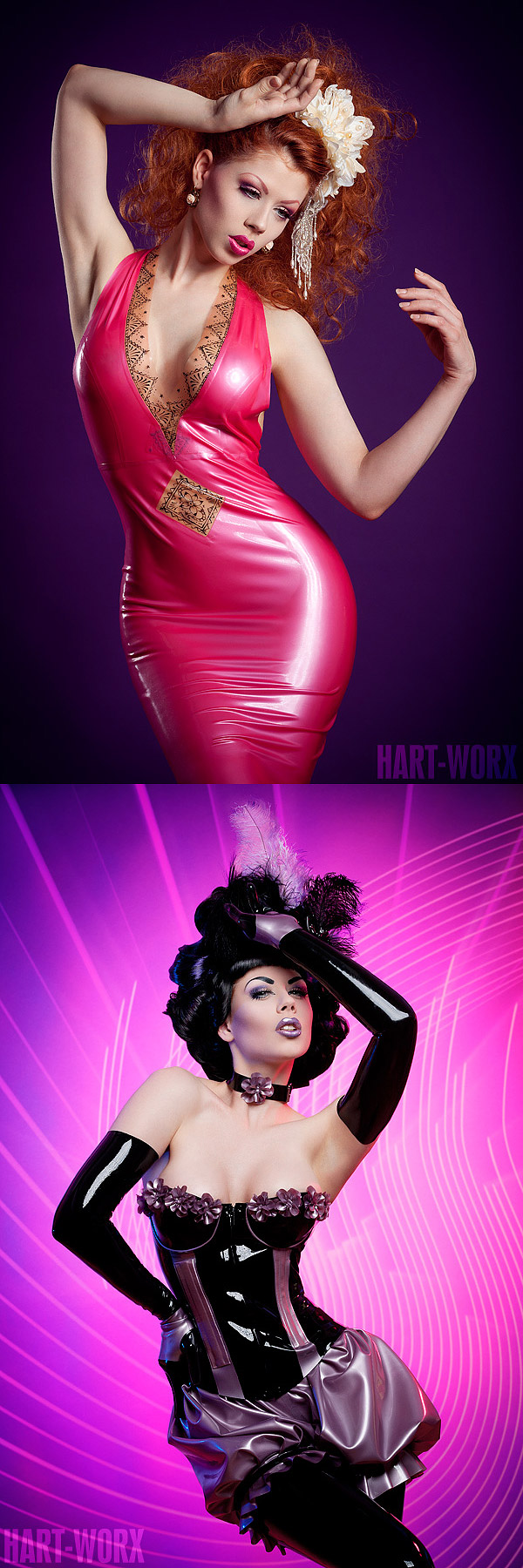 Jun 30, 2011 Hart- Worx model, make-up, styling, wig design: myself