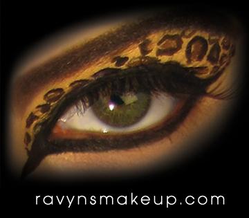 Orlando, Fl Jun 30, 2011 Ravyn Wilkinson 2011 Leopard Eyes