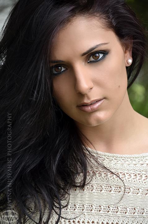 Female model photo shoot of Irvina Nuspahic  and Claudine Koch
