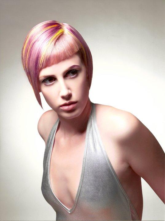 Planet Salon Jul 01, 2011 color-Celeste Jale, cut-Kate Matheny, photo-Robert Lynden Lumina-2011 Trend Vision