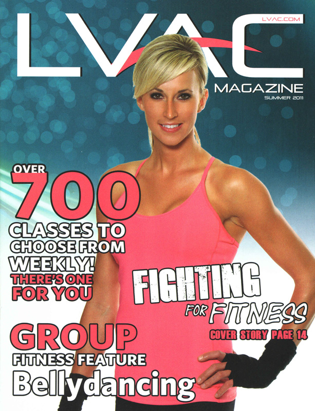 Las Vegas Jul 06, 2011 www.IMAGEZZ.com LVAC Magazine cover shot with Susan Kocab