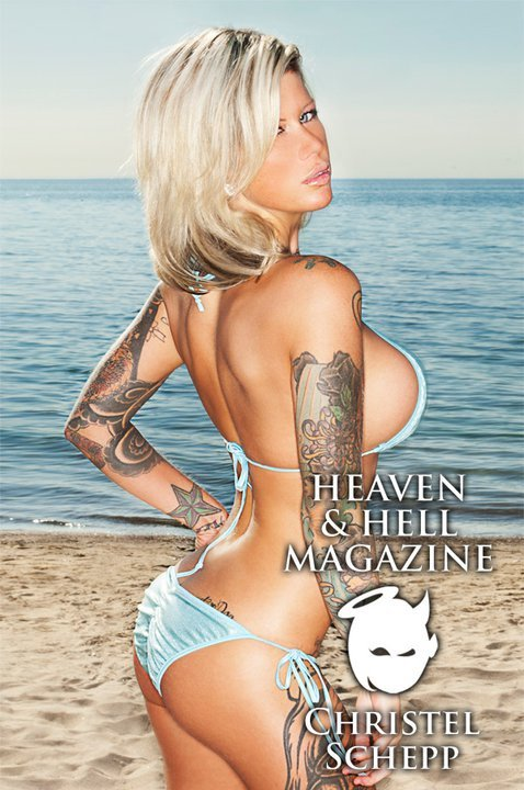 toronto Jul 07, 2011 Jay Stuckless HEAVEN & HELL blue beach bikini