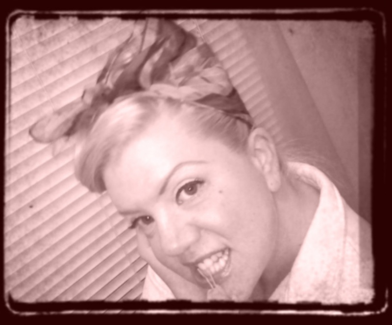 Female model photo shoot of Massie Monroe in My Bathroom!!