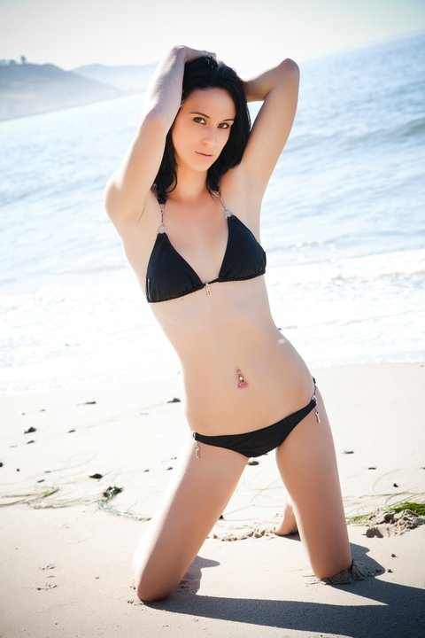 Female model photo shoot of TheUndeadModel