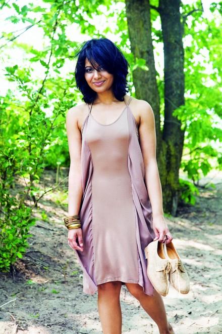 Female model photo shoot of Devika J Singh in Hannlan Point in Toronto, ON