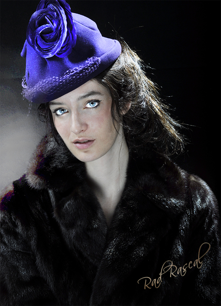 Studio Jul 08, 2011 Rad RascaL Vela Nari purple hat