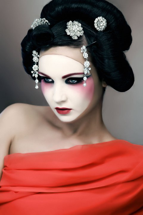 Jul 11, 2011 Photography - Jim Crone, Model - Diona Doherty, Styling - Sara ONeill, Hair - Joanne ONeill Geisha