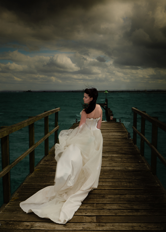 Southend, Essex Jul 11, 2011 Jeff Oliver Trash The Dress