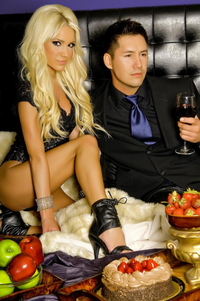 Male and Female model photo shoot of Steve Kim and Shanda Michelle Rogers