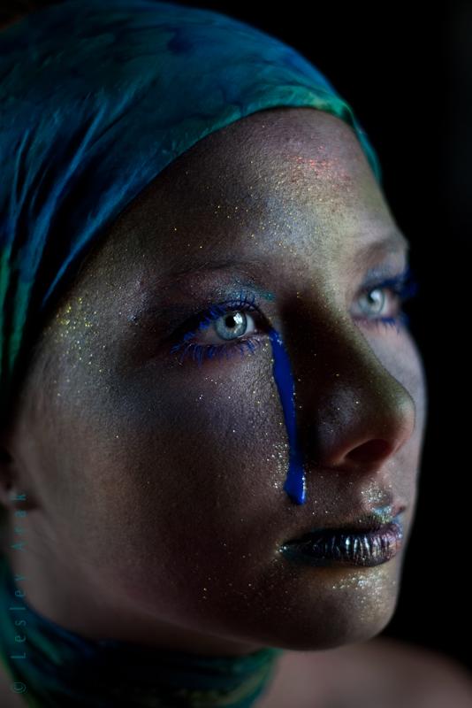 FNS Studios Jul 11, 2011 Lesley Arak blue tears