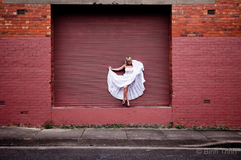 Female model photo shoot of Miss Phoenix