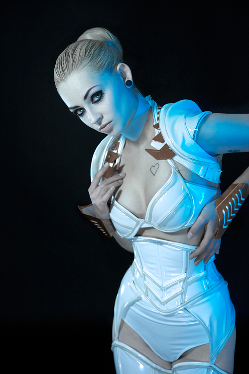 Jul 12, 2011 TRON makeup by Revel