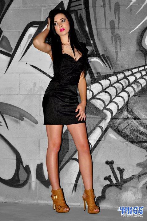 BRISBANE AUSTRALIA Jul 14, 2011 MISS PHOTOGRAPHY AUSTRALIA KAYLA