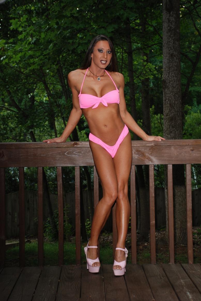 Cary, NC Jul 14, 2011 Nikki Tanikawa Pink Bikini 3 - 2011 by Tom Anstey