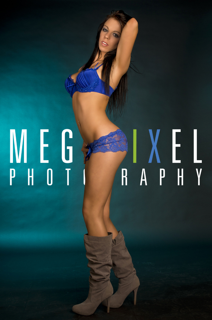 Female model photo shoot of jessikore by Megapixel Photography in Studio