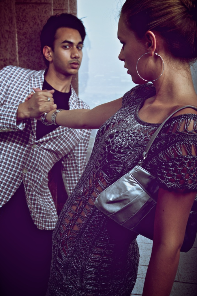 Male and Female model photo shoot of Kai Bhawanibhiek and Jaleessa by fashion in pictures