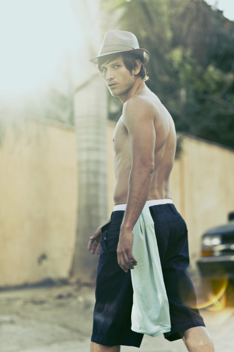 Male model photo shoot of Cesar ortiz in Sayulita mexico