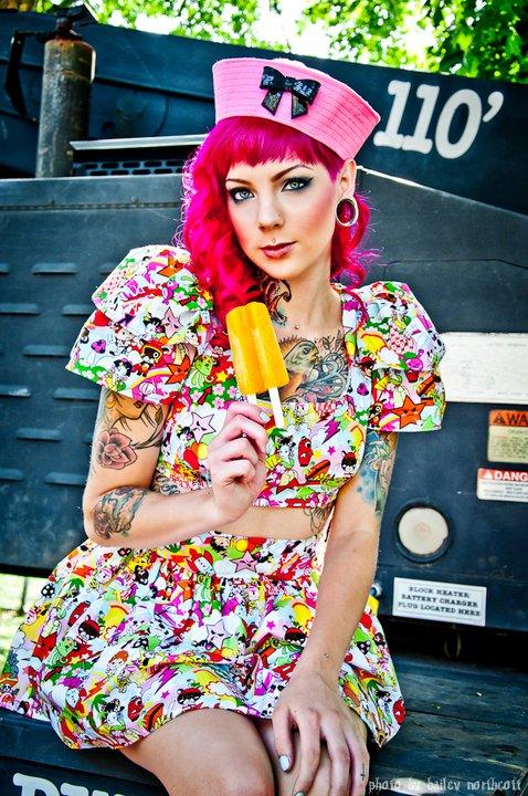 Jul 20, 2011 Model/Hair/MUA-Madison Skye Ingram Photo- Through The Glass (Photography by Bailey Northcott)