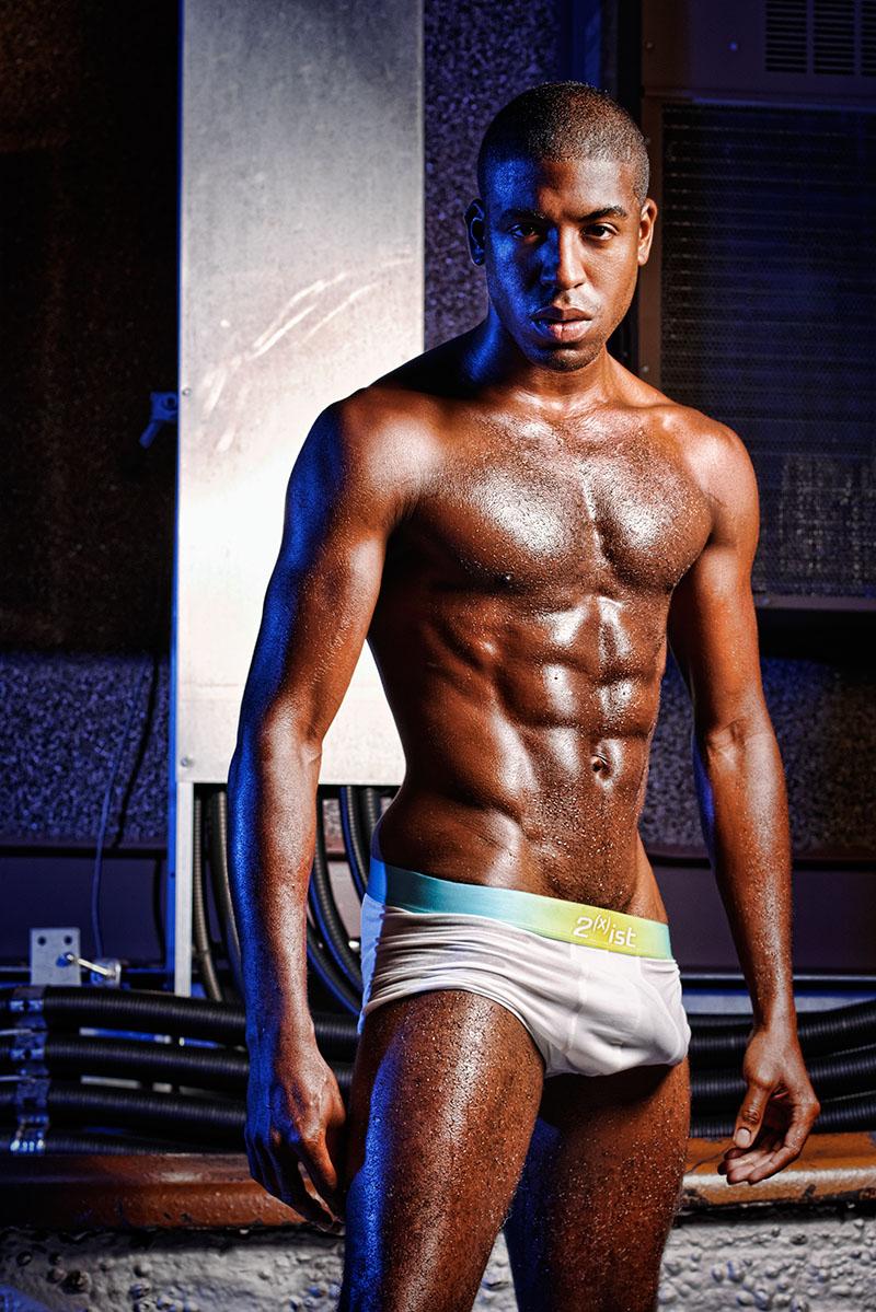 Male model photo shoot of Gerald Washington by Jimi Sweet NYC