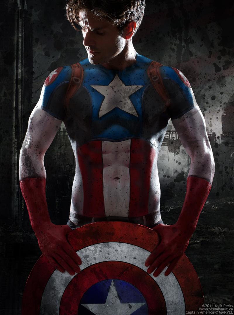 Jul 22, 2011 Photo ©Nick Perks, Captain America © MARVEL Captain America