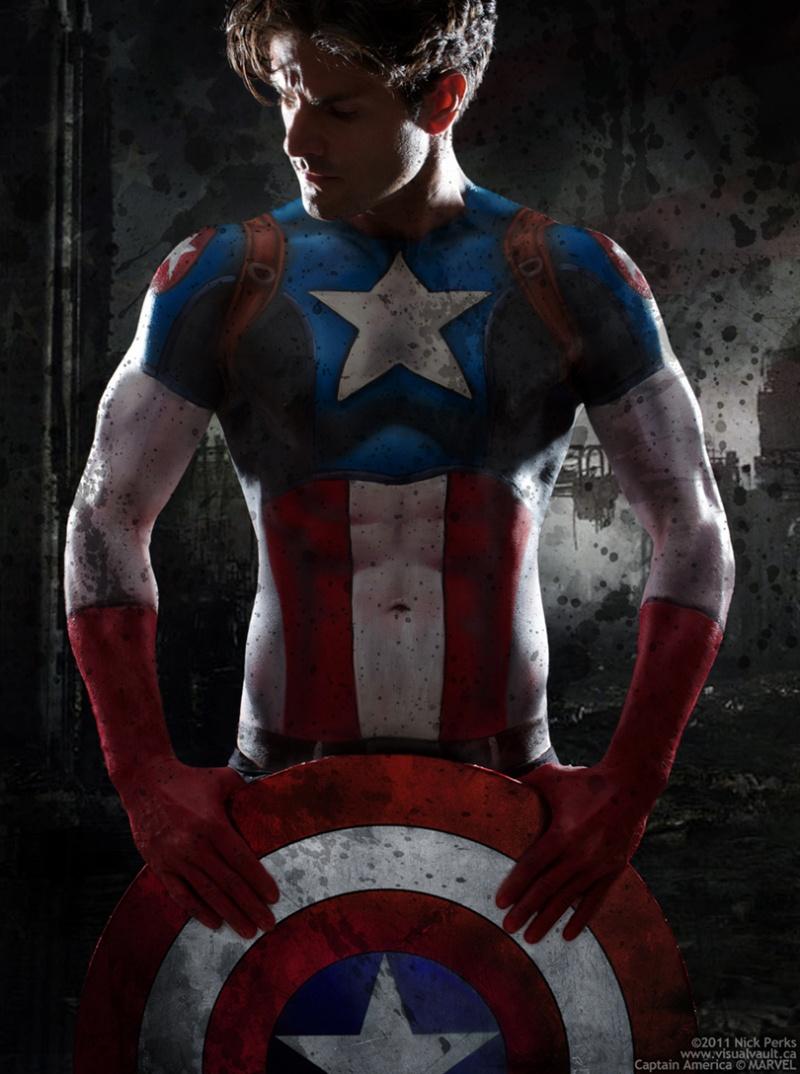 Toronto Jul 22, 2011 Photo ©Nick Perks, Captain America © MARVEL Captain America