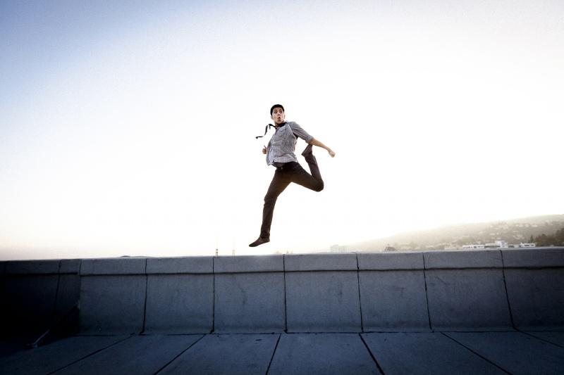 Male model photo shoot of Dash Possible in LA