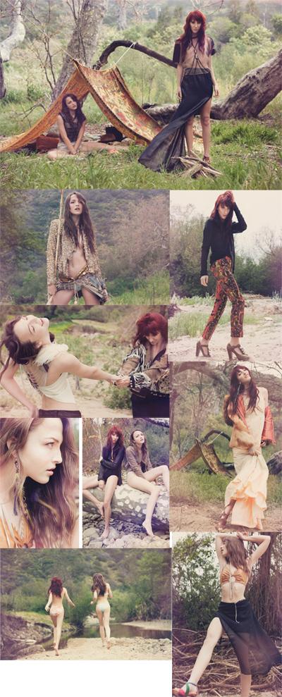 Female model photo shoot of Chesley Carele Stylist in Malibu, CA