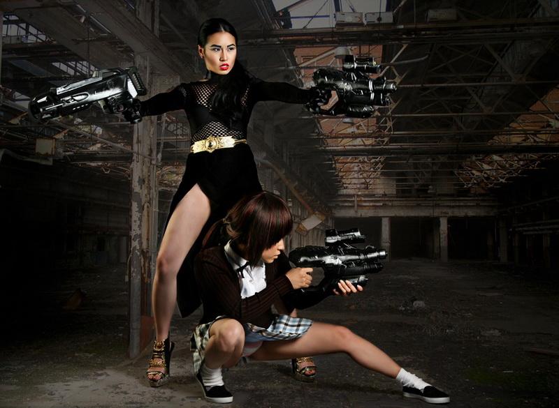 Underground Costa Mesa Jul 24, 2011 Gunslinger Girl and Femme Fatale