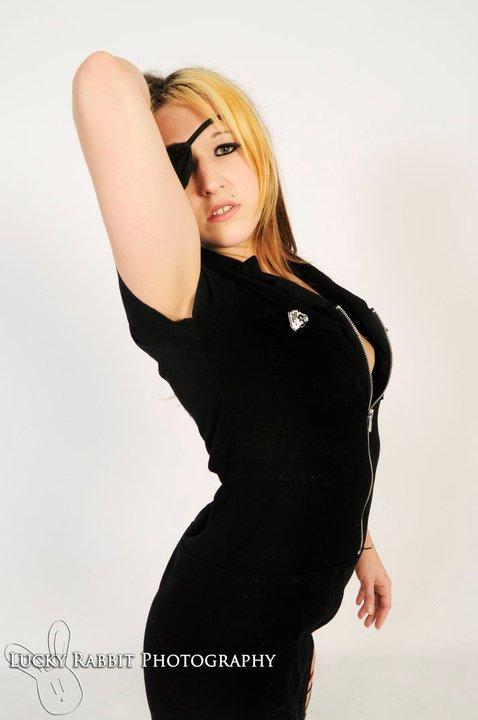 Female model photo shoot of Melanie Murder in philadelphia studio 5