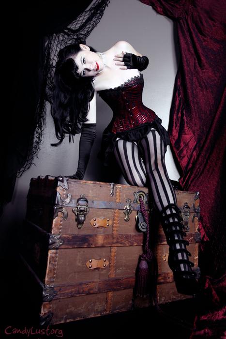 Female model photo shoot of Eleanor Black by CandyLust