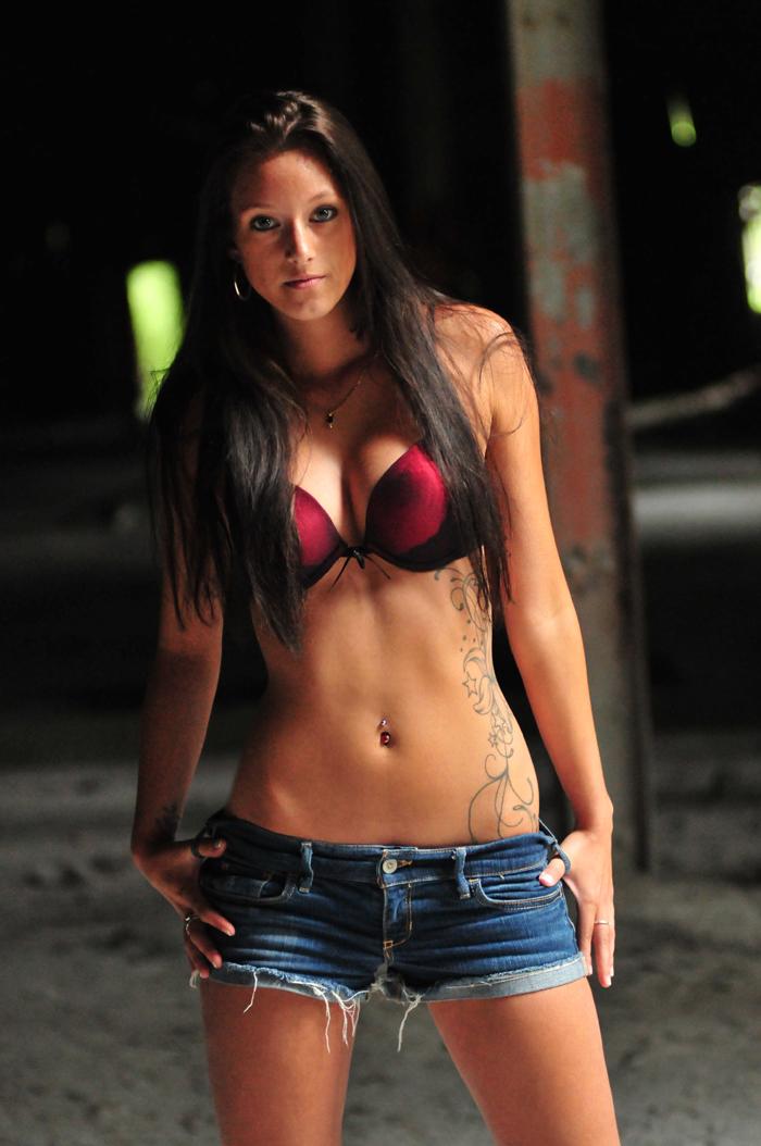 Female model photo shoot of Savannah_W by Paul Brassard