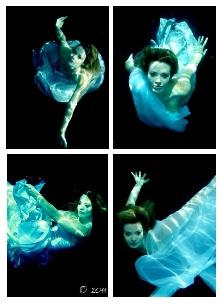 New Orleans Jul 28, 2011 Michael Siu Underwater Fashion Comp Card