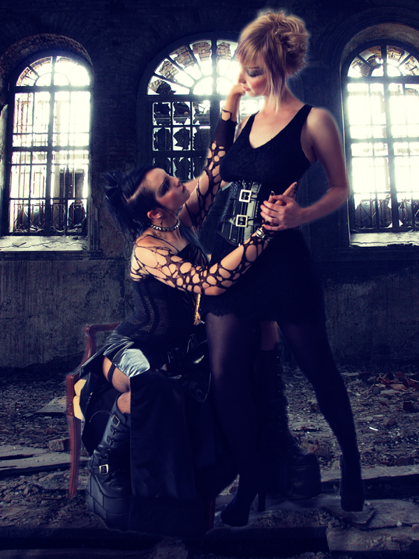 Male and Female model photo shoot of michael trace  and Lady Nastassia in bloomington